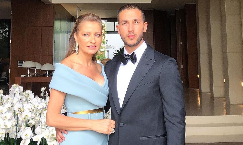 Claudine Saab, o cuando la madre del novio es la invitada más elegante