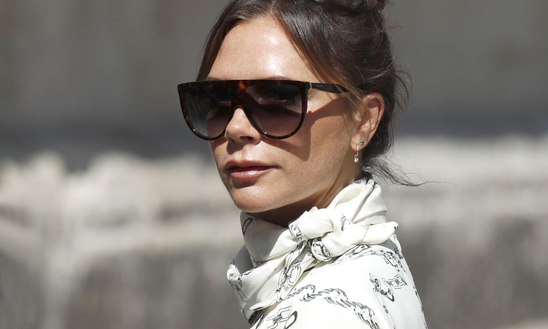 Ocho ocasiones en las que Victoria Beckham fue la diseñadora favorita de las 'royals'