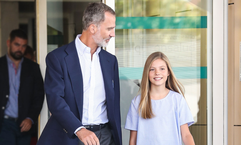 La blusa de rebajas que la princesa Leonor ha prestado a la infanta Sofía