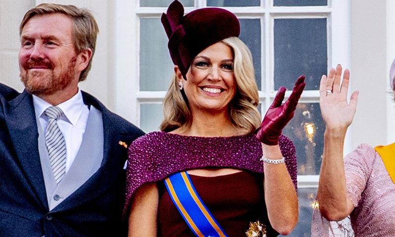 Máxima de Holanda, la Reina invencible cuando elige looks de gala