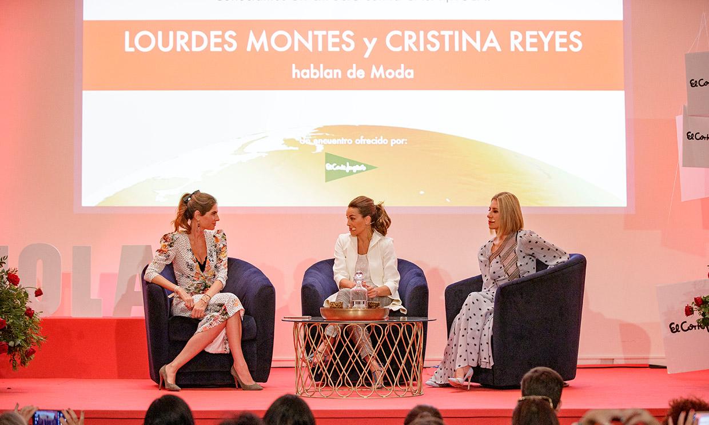 Vuelve a disfrutar de la interesante charla sobre moda de Lourdes Montes y Cristina Reyes