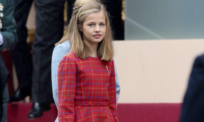 La influencia de los vestidos 'corola' de doña Letizia en el armario de Leonor