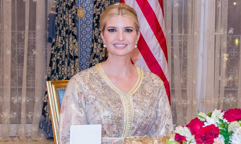 Tras los pasos de doña Letizia, Ivanka Trump estrena caftán de gala en Marruecos