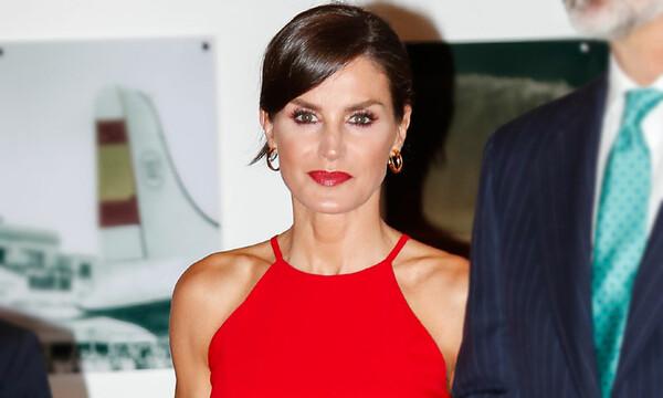 La Reina Letizia En Cuba Rescata Su Misterioso Vestido Rojo