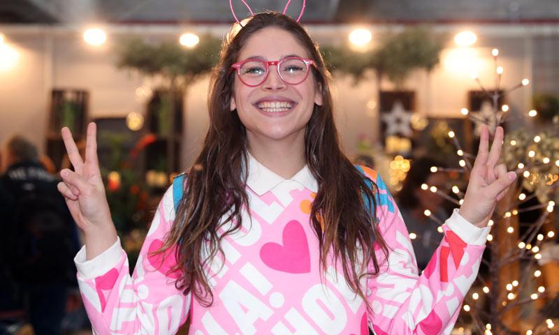 Cósima Ramírez, la mejor modelo para la colección homenaje a ¡HOLA!