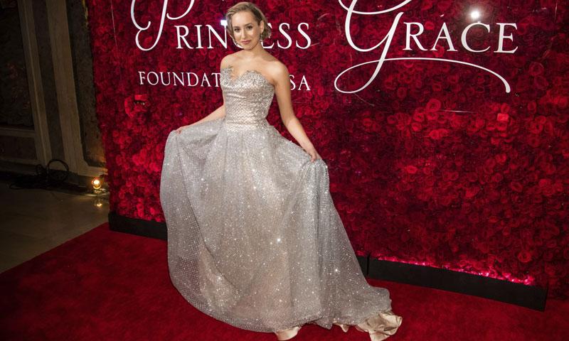 El 'look princesa' de Jazmin Grace Grimaldi con el que recoge el testigo de Charlene de Mónaco