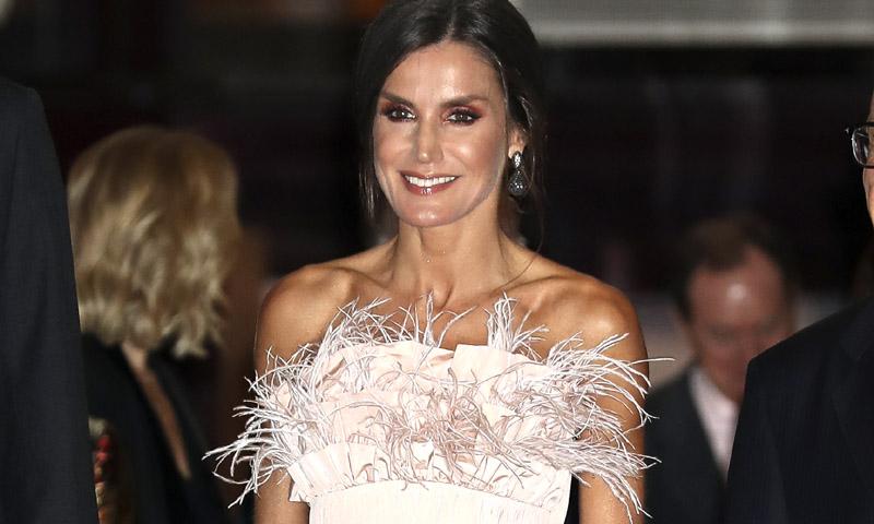 Cuando el estilo de la reina Letizia se 'coló' en la alfombra roja de los Premios Forqué