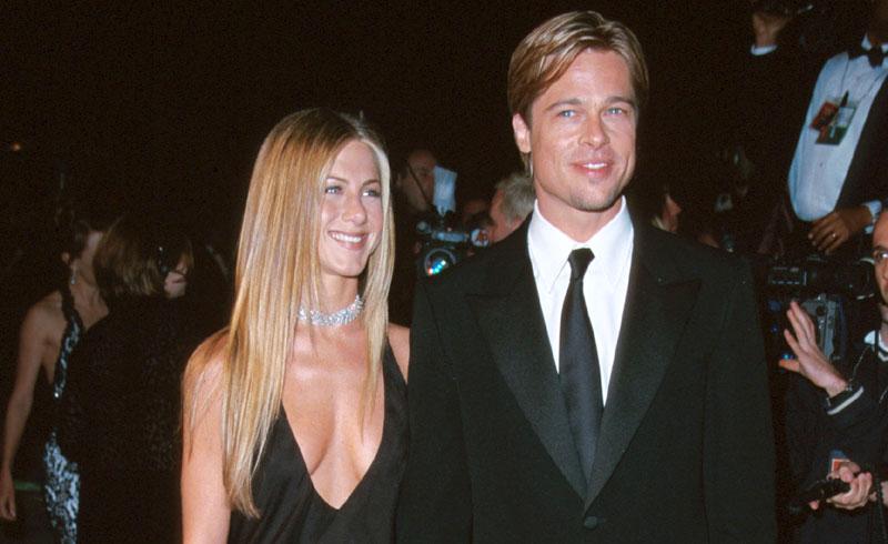 El curioso caso del 'slip dress' en las parejas de Brad Pitt, de Jennifer a Angelina