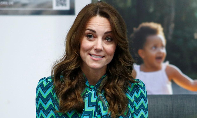 El guiño a doña Letizia de Kate Middleton en su look más setentero