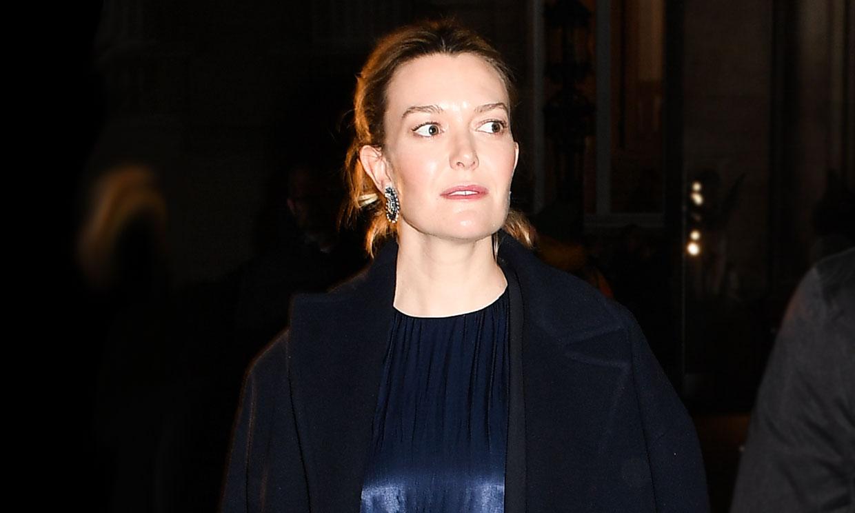 Marta Ortega, una embarazada con mucho estilo en la Alta Costura de París
