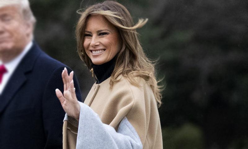 Las rompedoras prendas que Melania Trump copia a doña Letizia y Máxima de Holanda