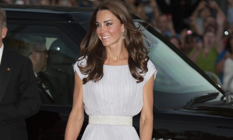Del más caro al más imitado: los vestidos de Kate Middleton en la alfombra roja