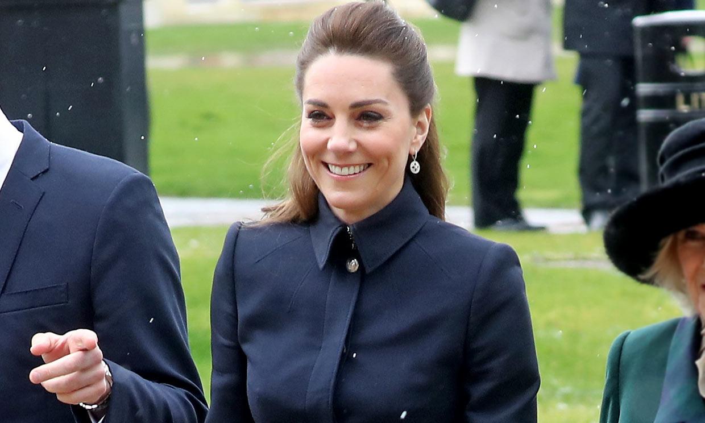 ¿Adiós abrigo-vestido? El look de Kate Middleton que podría sustituir a su básico de invierno