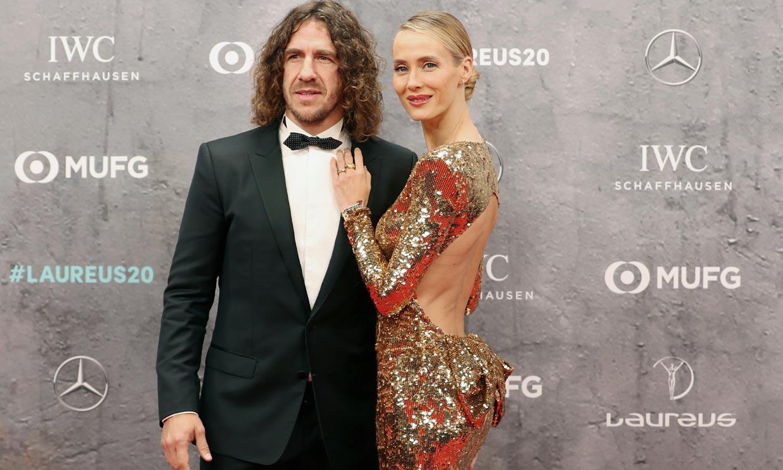 Vanesa Lorenzo vs Helene Svedin: duelo de estilo entre WAGs en los Oscar del deporte