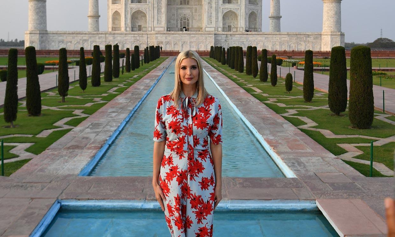 Melania vs Ivanka Trump: duelo de estilo histórico frente al Taj Mahal