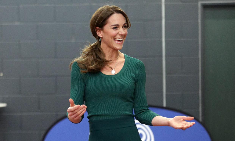 Kate confirma su idilio con Zara gracias a un pantalón 'culotte' de 8 euros