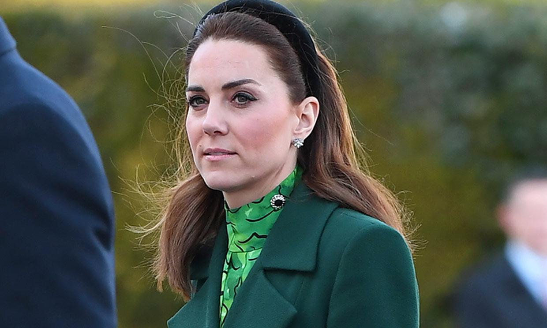 Kate Middleton estrena un nuevo vestido floral con efecto 'cintura de avispa'