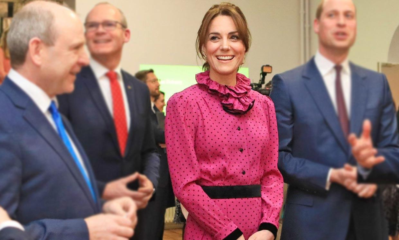 Más Diana que nunca, Kate se supera con el vestido de primavera más romántico