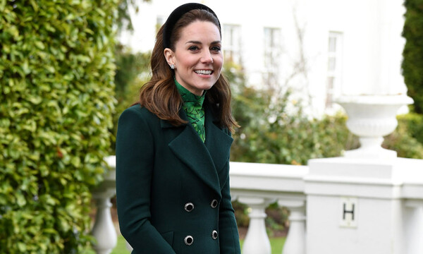 Kate Middleton de verde
