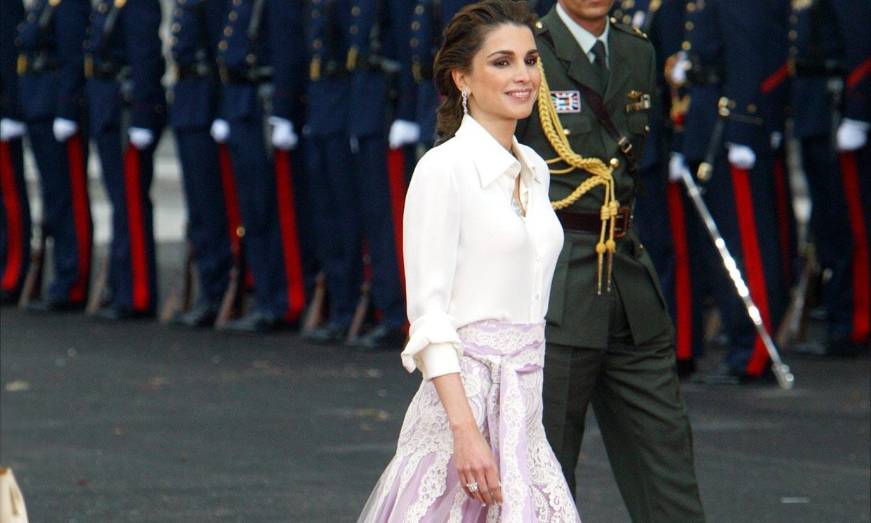 Rania, su inolvidable look y otras invitadas que fueron noticia en la boda de los reyes de España