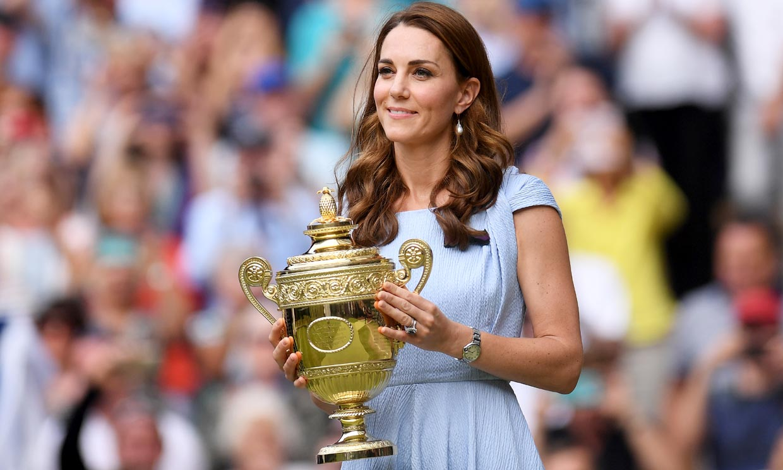El recuerdo a los éxitos de Kate en Wimbledon: del guiño a Diana a diseños con truco