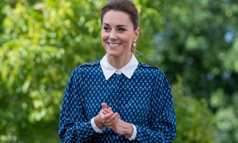 ¿Qué princesa llevó antes el vestido 'Shalini' que Kate Middleton ha hecho viral?