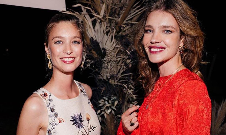 Beatrice Borromeo deslumbra entre supermodelos con su vestidazo bordado