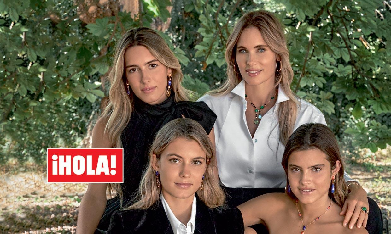 Helene Svedin y sus hijas, unas modelos de excepción para las joyas más deslumbrantes