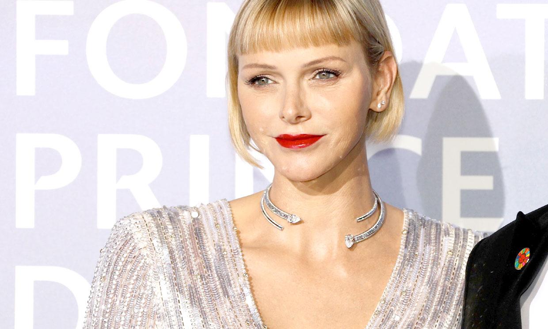 El deslumbrante estreno de Charlene de Mónaco, el vestido 'Silvie' de estilo Hollywood