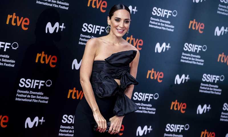 Tamara Falcó, premio a la mujer más elegante en el Festival de San Sebastián