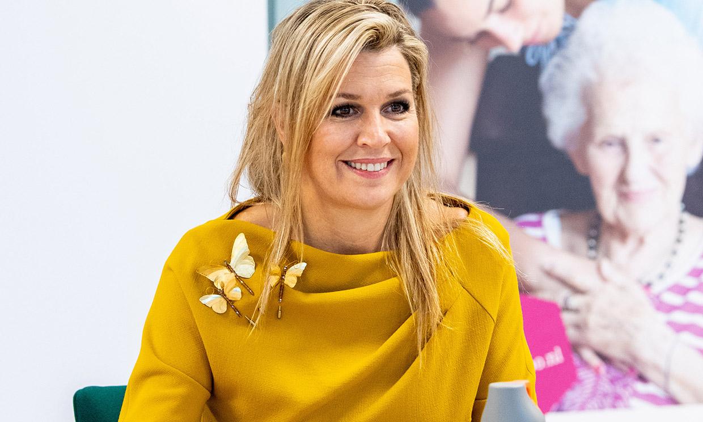 La innovación de Máxima de Holanda al transformar la tendencia que unió a Kate y Leonor
