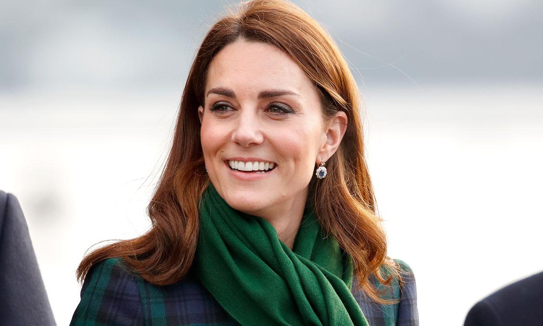 Kate recuerda por una razón muy significativa su icónico look con estampado tartán