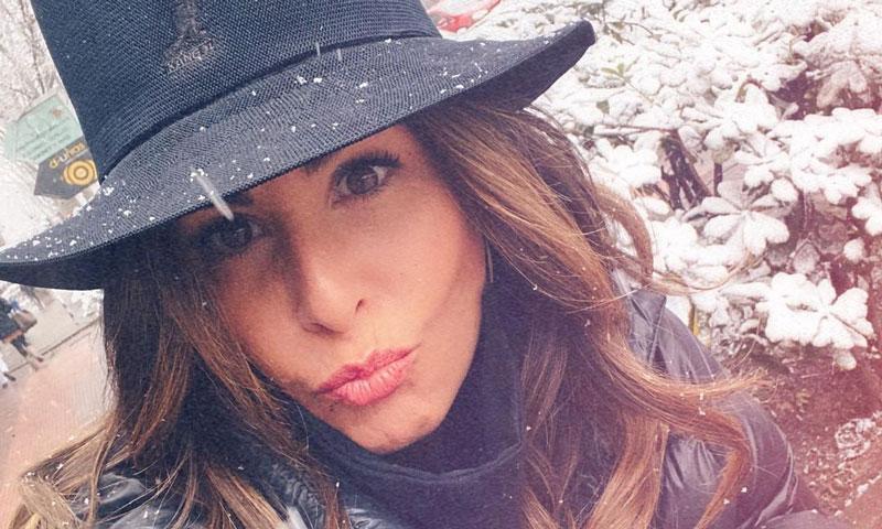 No sin mi sombrero: Nuria Roca nos descubre el complemento definitivo para la nieve