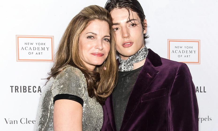 Stephanie Seymour, devastada por el muerte a los 24 años de su hijo Harry  Brant