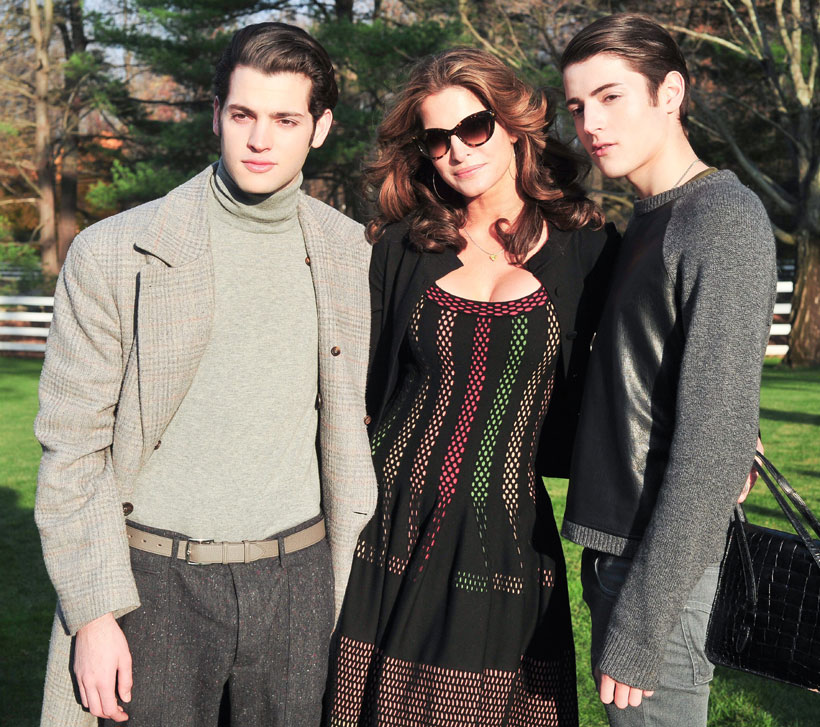 Stephanie Seymour y Harry Brant