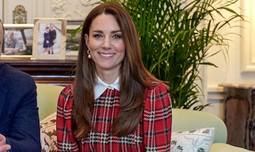 Kate Middleton recupera en enero su vestido 'puffy' navideño