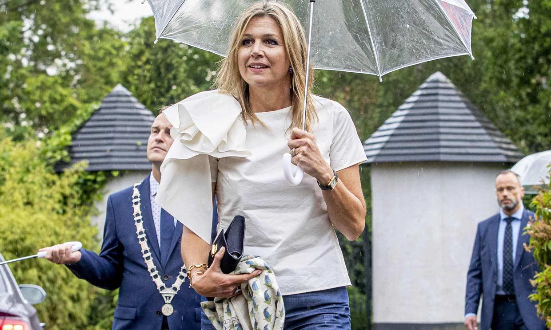 Máxima de Holanda, la reina que no quiere llevar vaqueros de corte pitillo