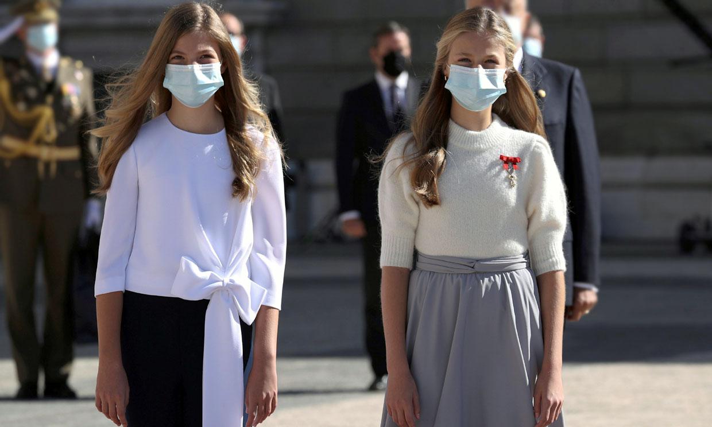 El impacto internacional (y viral) de Leonor y Sofía a través de su estilo