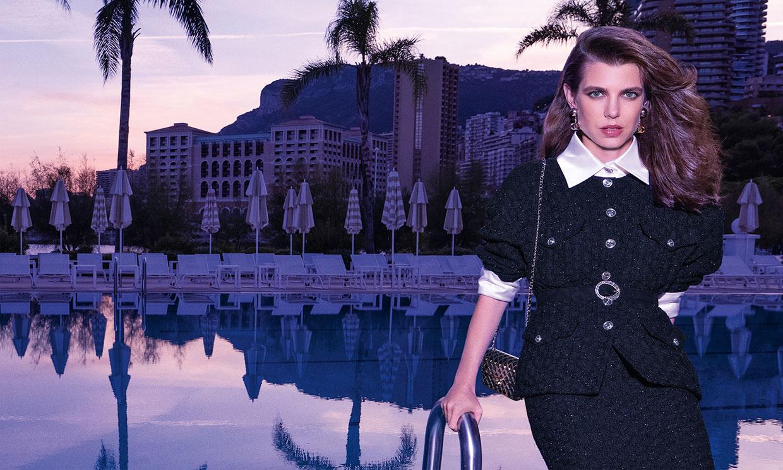 Un viaje por Mónaco con Charlotte Casiraghi entre 'tweed', zapatos y vestidazos