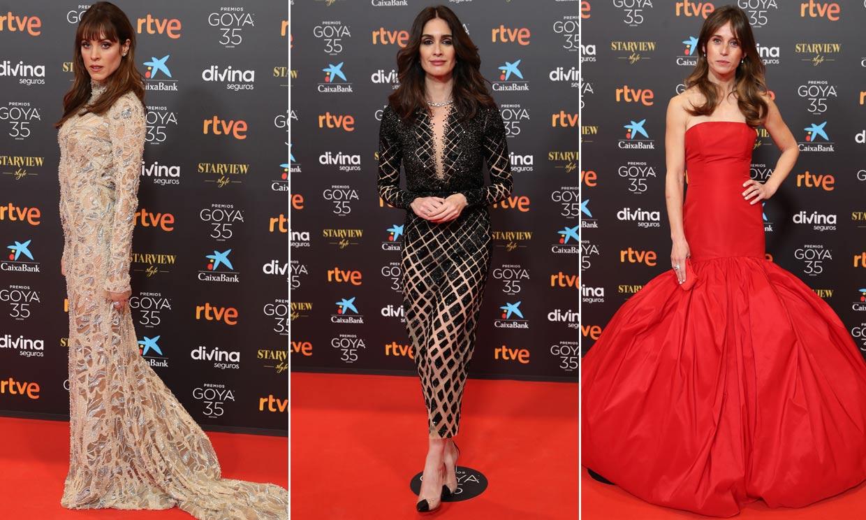 Y la invitada mejor vestida en los Premios Goya 2021 fue...