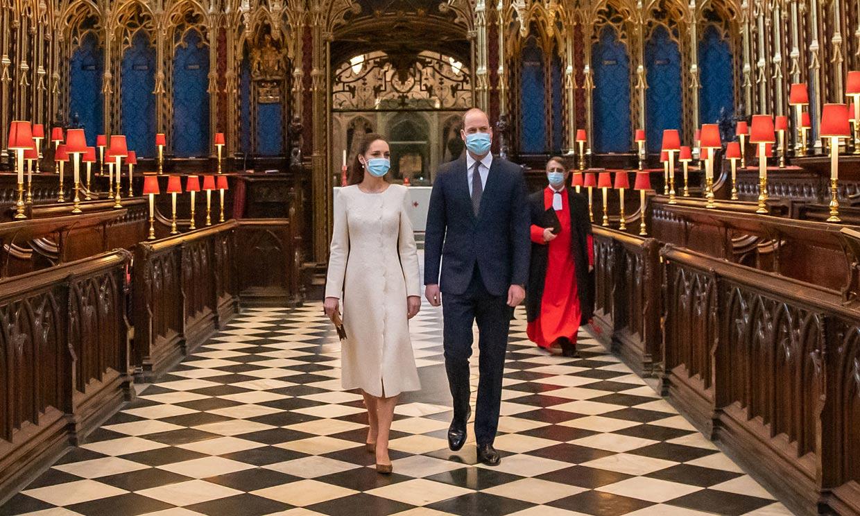 Kate se viste de blanco para volver a la Abadía de Westminster 10 años después de su boda