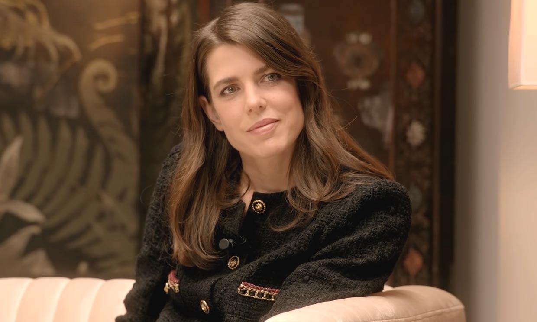 Carlota Casiraghi, digna heredera de la princesa Carolina con su nueva chaqueta de 'tweed'