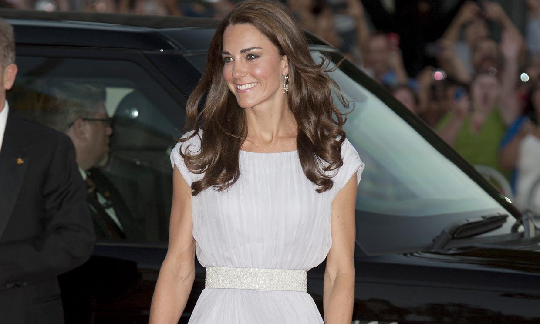 Todas las veces en las que Kate Middleton brilló sobre la alfombra roja de los BAFTA