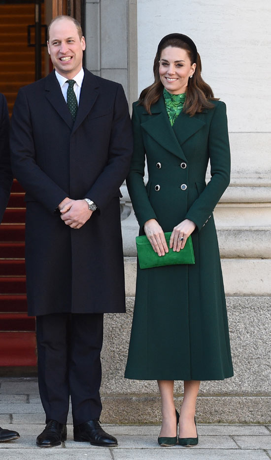 Kate Middleton abrigo verde