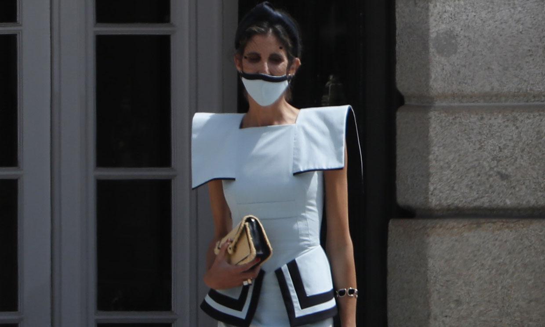 Tras vestir a la reina Letizia, Inés Domecq elige un look de su propia firma