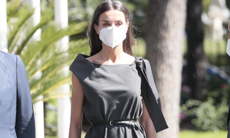 Un vestido con mensaje, el segundo estreno viral de la Reina en menos de 24 horas