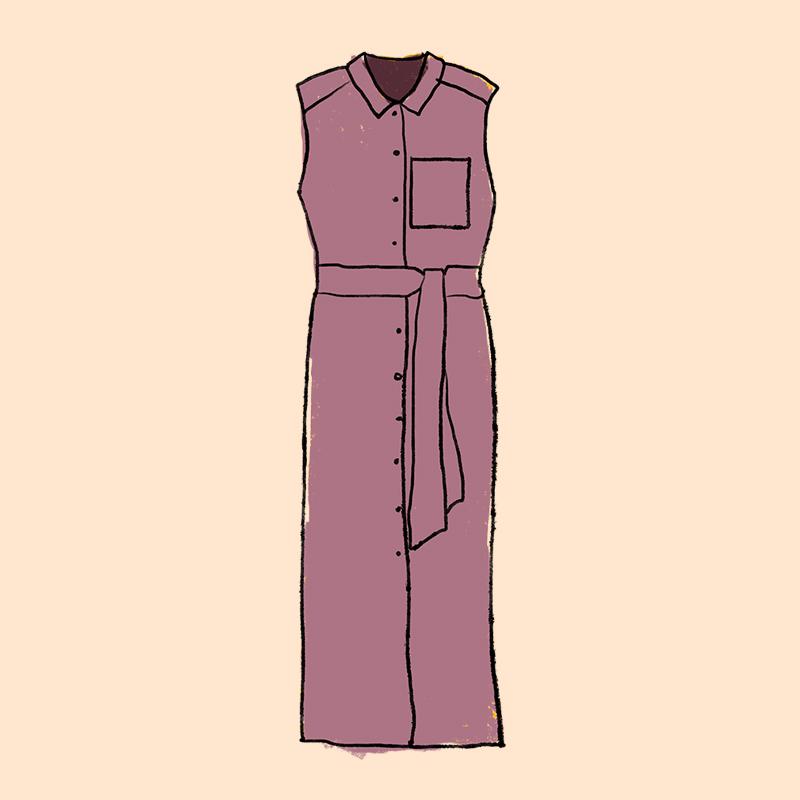 Vestido camisero