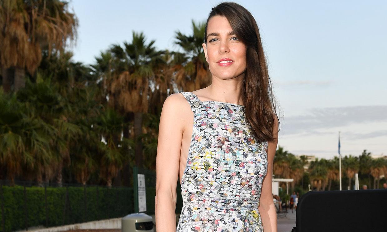 Carlota Casiraghi, una estrella más de Cannes con su vestido semitransparente