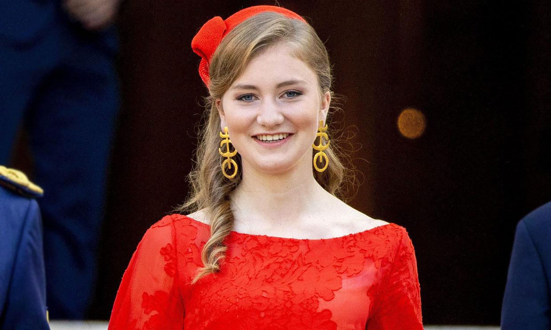 Elisabeth triunfa en el gran día de Bélgica con pendientes de su madre y taconazos