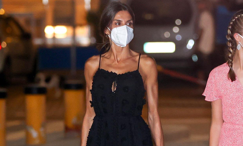 El cambio de estilo de la Reina con sus elecciones de moda en Palma